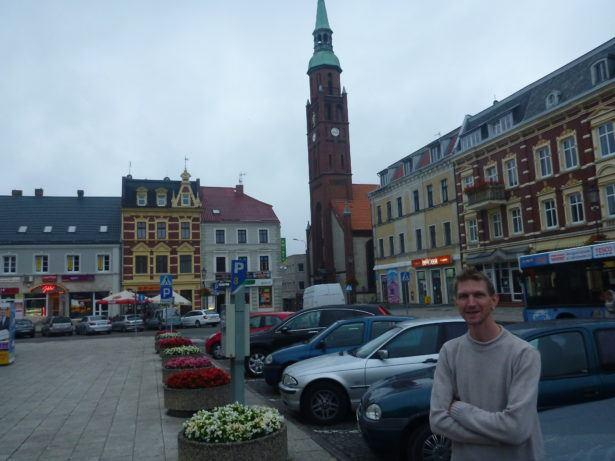 Backpacking in Starogard Gdański.