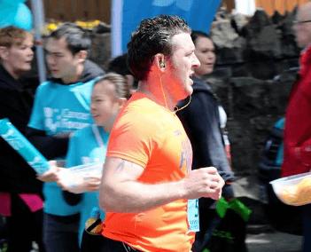Dougie Gordon marathon runner