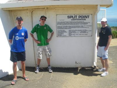 Neil, Paul and I backpacking Australia back in the day