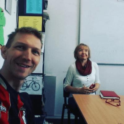 Learnining Polish in Gdansk with Jonny Blair