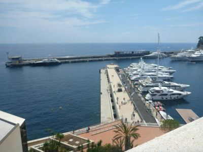Port Hercule Harbour Front