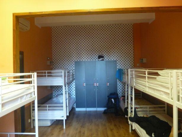 My last ever dorm room tonight (my bed is top left).