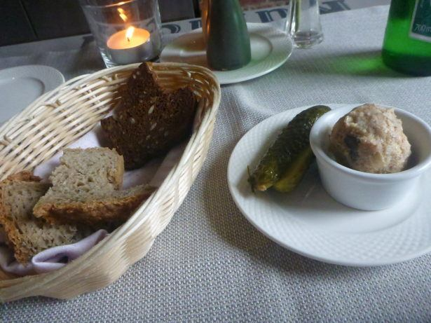 Bread and pickle