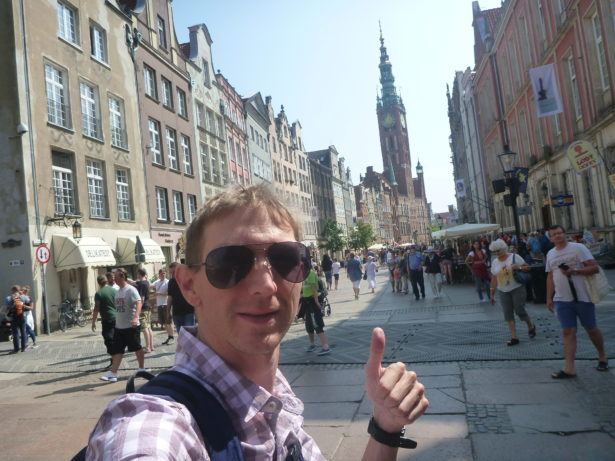 Touring Gdańsk.