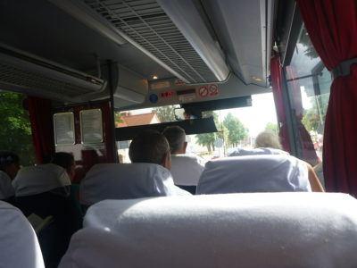 Bus from Pruszcz Gdański to Tczew!