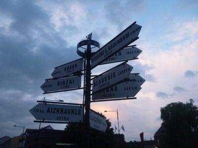 Signs at Urząd Miejski