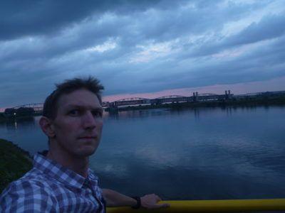 Nightfall at the Bridge Where World War II Began (Mosty Tczewskie)
