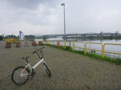 Cycling by the Bridge Where World War II Began (Mosty Tczewskie)