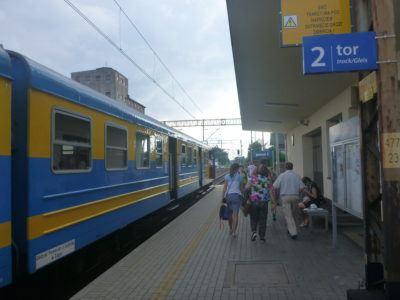 Arrival in Pelplin