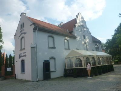 Backpacking in Poland: Staying at Hotel Nad Wierzycą, the Only Hotel in Pelplin