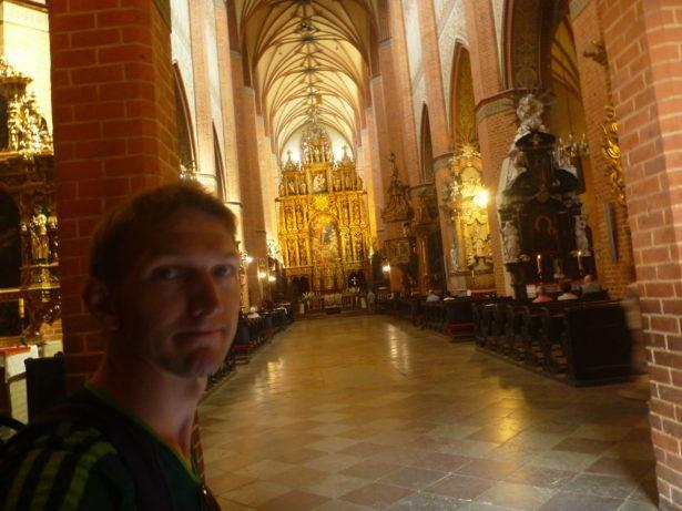 Pelplin Abbey - inside the church