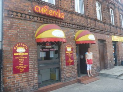 The Cukiernia - best cafe in town.