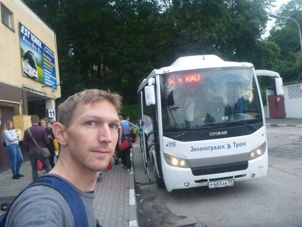 Bus to Kaliningrad please
