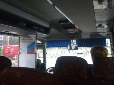 Leaving Gdańsk for the Kaliningrad bus