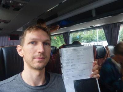 On the Gdańsk to Kaliningrad bus