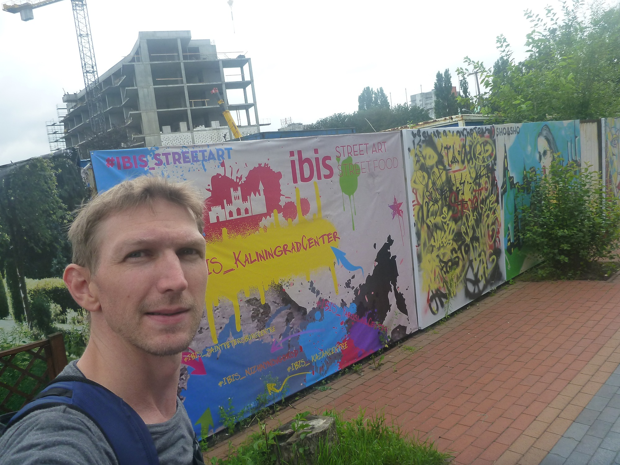Staying at the Ibis Kaliningrad Center in Kaliningrad, Russia