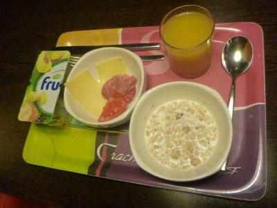 Breakfast at the Ibis in Kaliningrad
