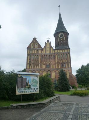 Konigsberg Cathedral and Imannuel Kant Museum