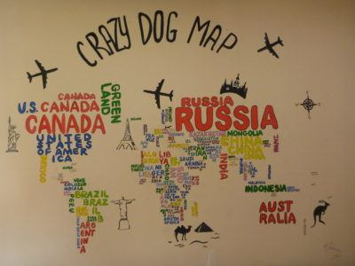 Crazy Dog Map