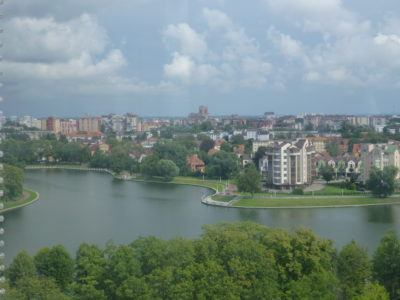 View of Kaliningrad from Ferris Wheel, Yunost Park