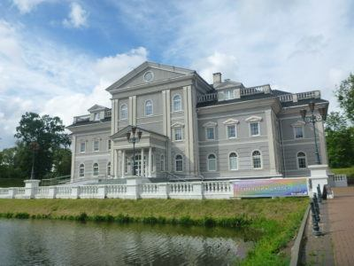 6.Blue Palace (Center for Development of Interpersonal Communication, Yunost Park)