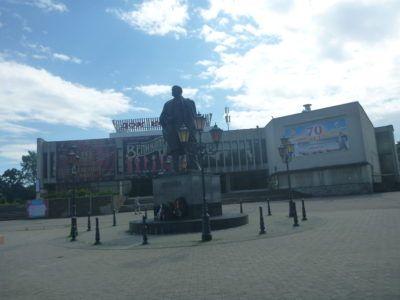 Lenin Statue in Kaliningrad