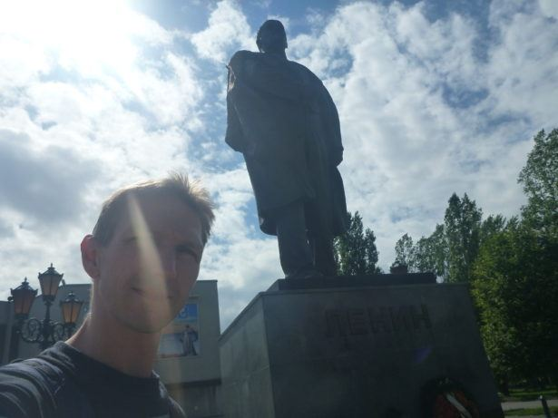 Whackpacking Kaliningrad with Lenin