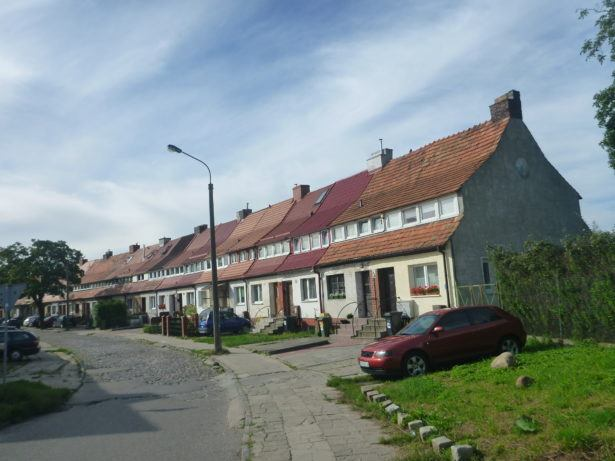 The quiet street I lived on in my interim period