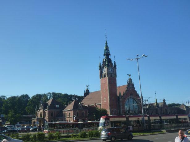 Gdańsk Główny - main train station