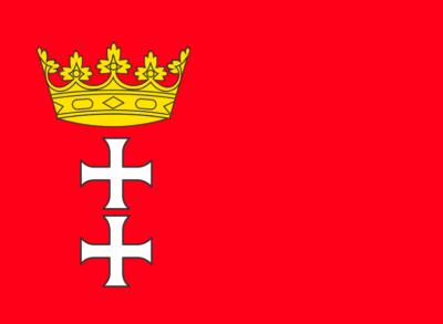 Gdańsk Flag, Poland