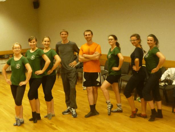 Irish Dancing in Gdańsk with Dziewczyna w żółtych Spodniach