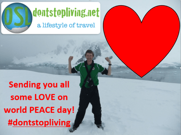 Sharing some love on World Peace Day