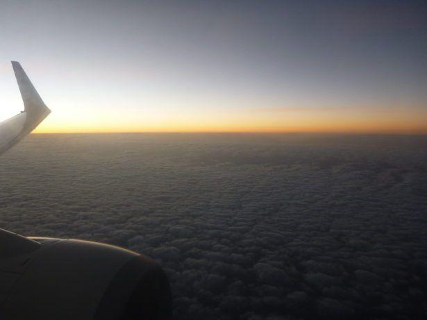 Flying to Mauritania
