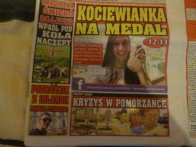 The First Backpacking Travel Writer Tourist in Starogard Gdanski!