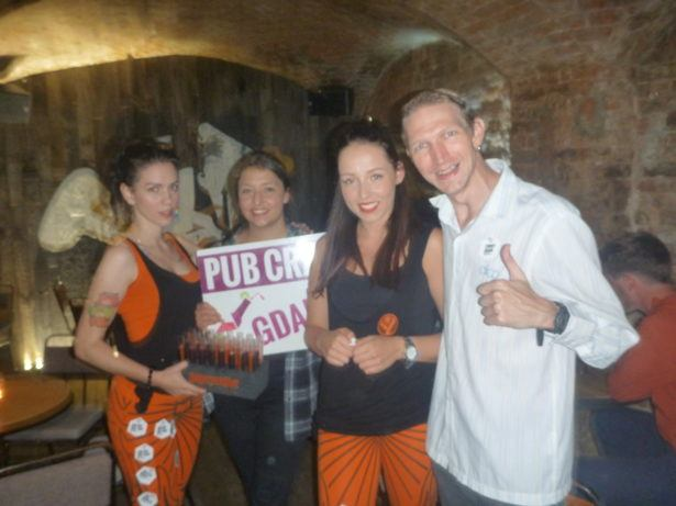 Thirsty Thursdays: A Night Out With Pub Crawl Gdańsk, Poland