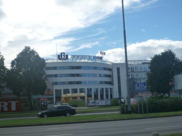 University here in Gdańsk Przymorze