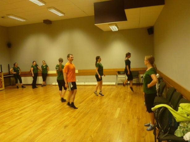 Soft Irish Tap Dancing in Gdańsk, Poland with Animus Saltandi and Dziewczyna w żółtych Spodniach