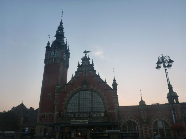 Gdańsk Głowny - main train station.