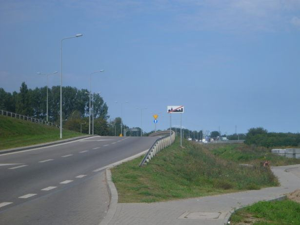 The bus in Gdańsk