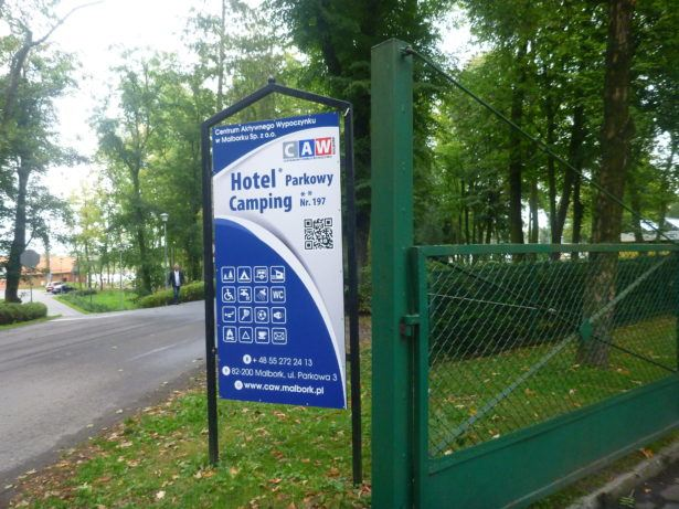 The location of Hotel Parkowy is in a peaceful park area