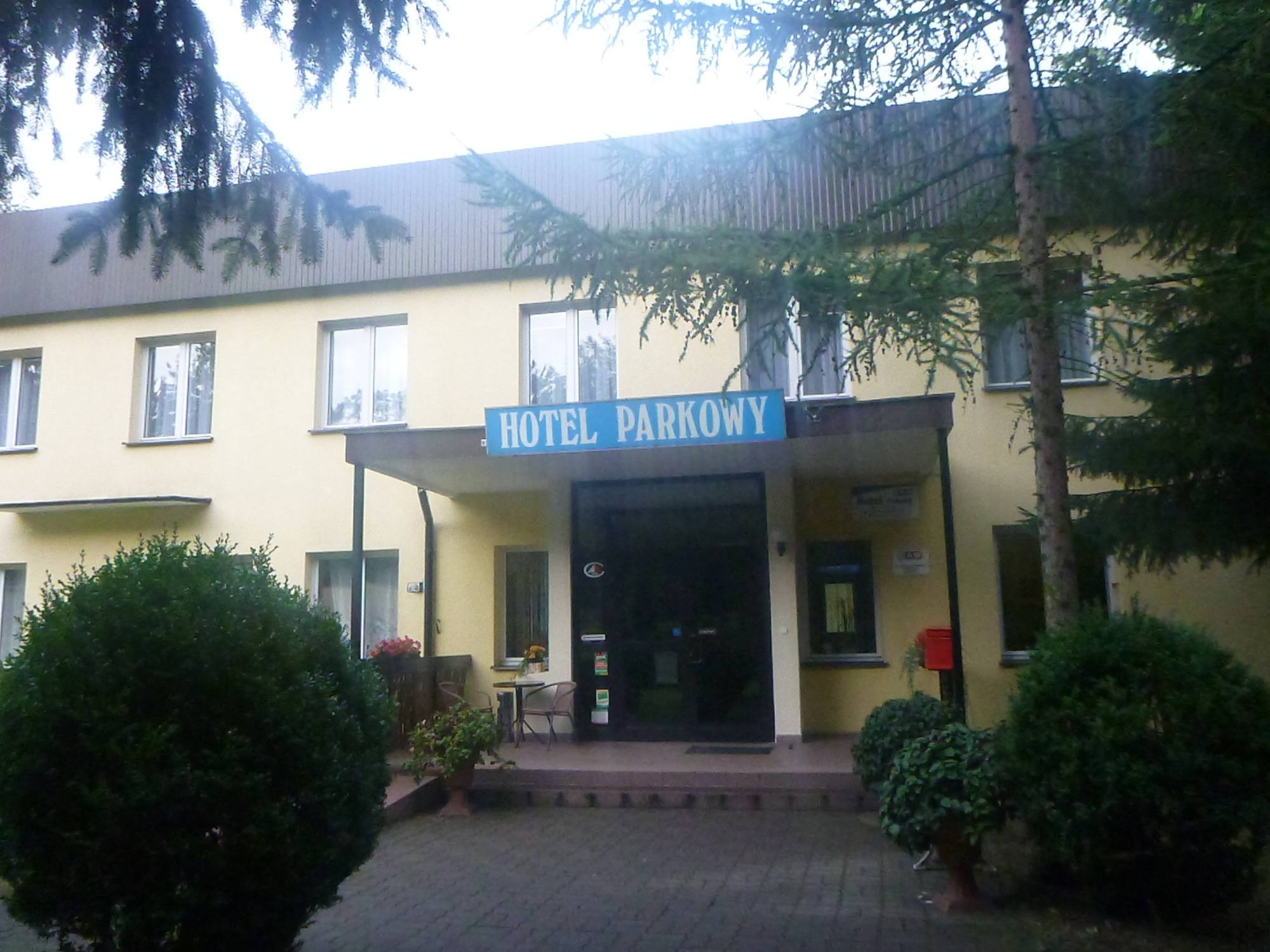 Staying at the Hotel Parkowy in Malbork, Poland