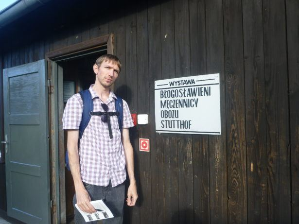 Touring the horrific German Nazi concentration camp at Stutthof.