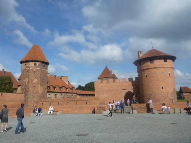 Malbork Castle - UNESCO World Heritage Site and largest Gothic Castle on Planet Earth