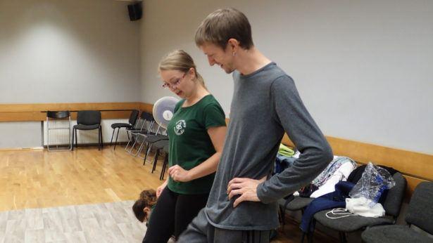 Irish Dancing in Gdańsk, Poland with Animus Saltandi and Dziewczyna w żółtych Spodniach