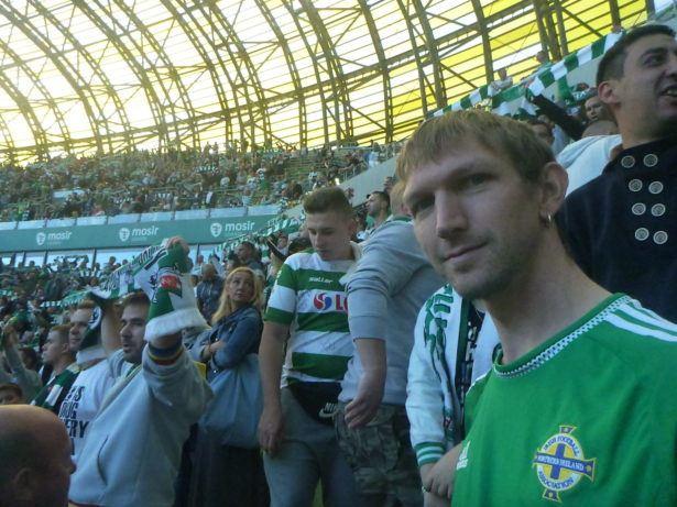 Watching Lechia Gdańsk in September 2016