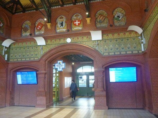 Malbork train station