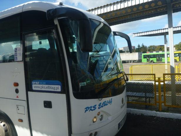 Bus from Elbląg to Stutthof
