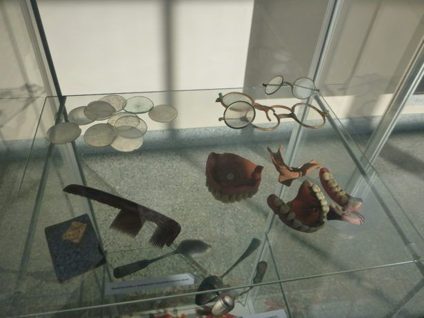 Belongings of victims