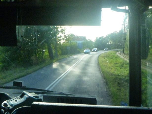 Bus from Elbląg to Stutthof