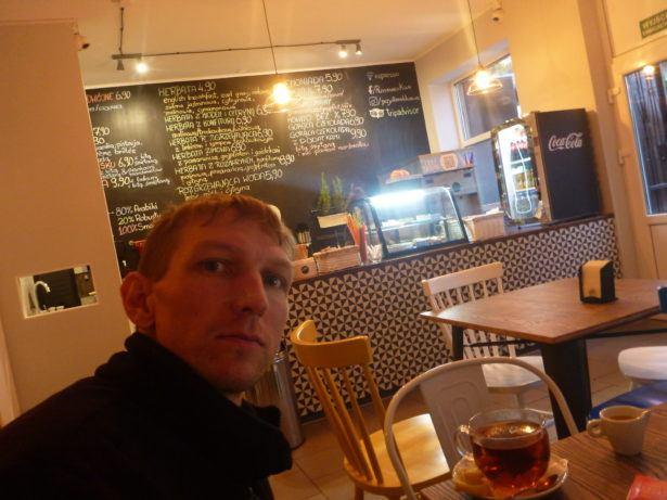 My local WiFi cafe in Brzezno, Gdańsk